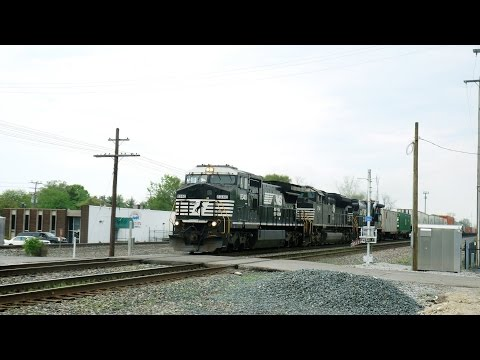 Weekend of Trains in Columbus, OH Feat. NS 956