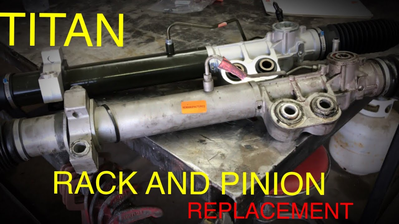 hight resolution of nissan titan rack and pinion replacement 2004 2015
