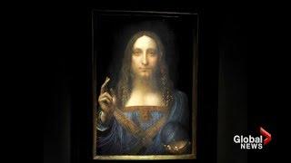 500-year-old Leonardo da Vinci painting sold for $450 million USD at auction