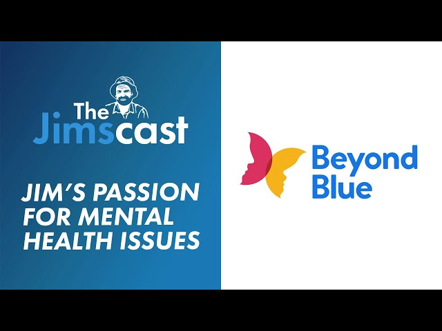 #JIMSCAST Jim Penman speaks about his passion for mental health with Joel Kleber
