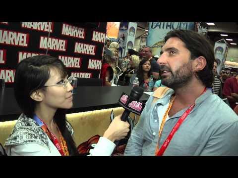 SDCC '12 Drew Pearce: Writer of Iron Man 3