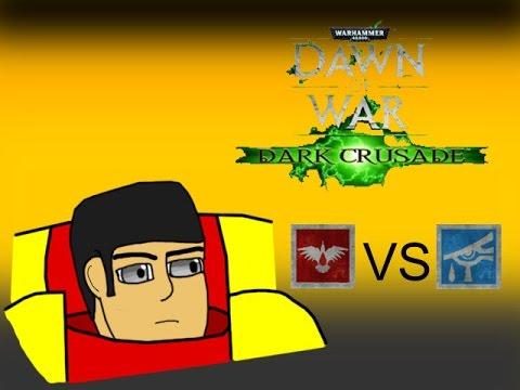 Dawn of War: Dark Crusade - The Chapter's Mysticism (Space Marines vs. Eldar)
