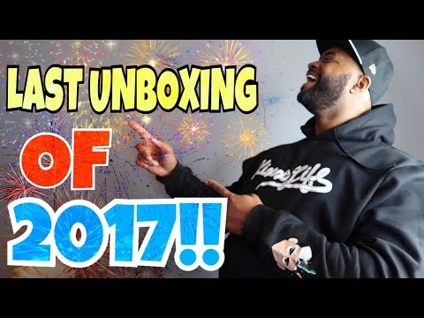 COUNTDOWN TO 2018!! LAST UNBOXING OF 2017!!!