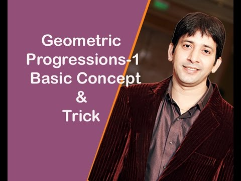 Geometric Progressions-1 ( Basic )