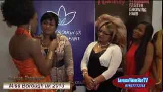 The 2nD Miss Borough Uk beauty Pagent /2013/ @Klash Entertainment TV