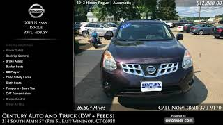 Used 2013 Nissan Rogue | Century Auto And Truck (DW + Feeds), East Windsor, CT