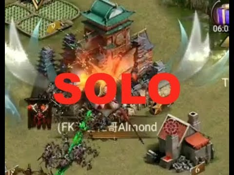 Clash Of Kings : SOLO KILL - REINFORCED CASTLE - THE KILL SONG