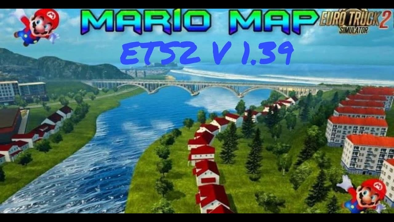 Mario Map for ETS2 v1.39