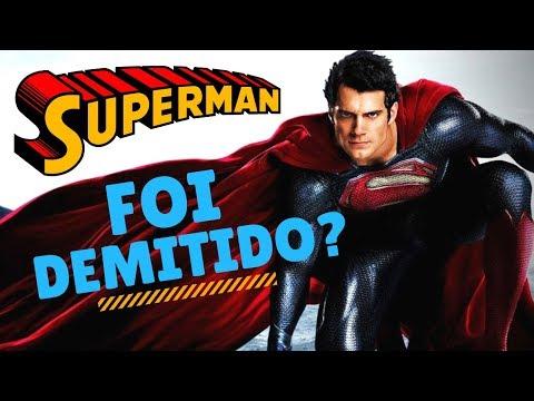SUPERMAN - HENRY CAVILL FOI DEMITIDO OU NÃO? - Jujuba ATÔMICA