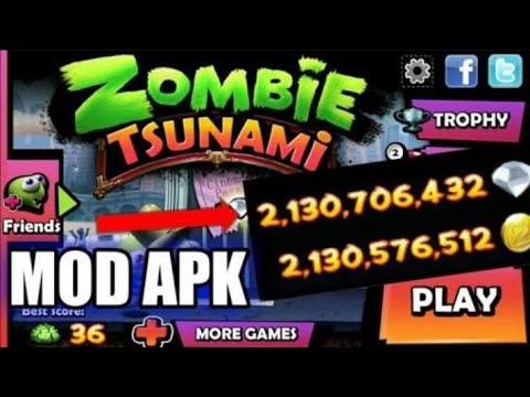 zombie tsunami hack apk download free