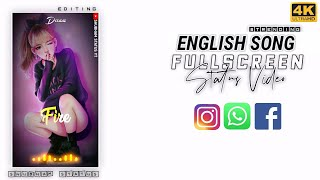 Song, whatsapp status full screen (4k ...