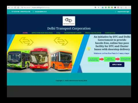 Delhi DTC BUS Pass Apply Online Kaise Kare Puri Jankari