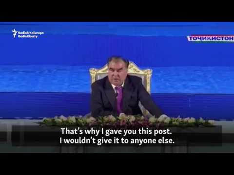'Be Strict': Tajik President Lectures Son On Leadership