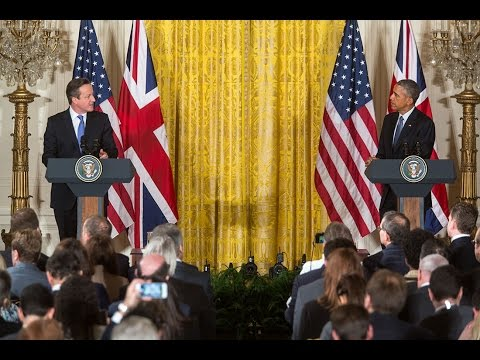 President Obama Meets with the Prime Minister of the United Kingdom
