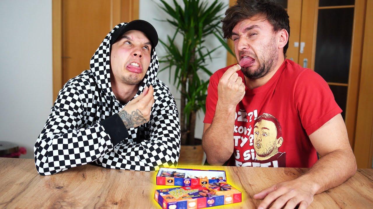 Jelly Beans Challenge! Kdo se poblil? | Tary a @Jay Fox