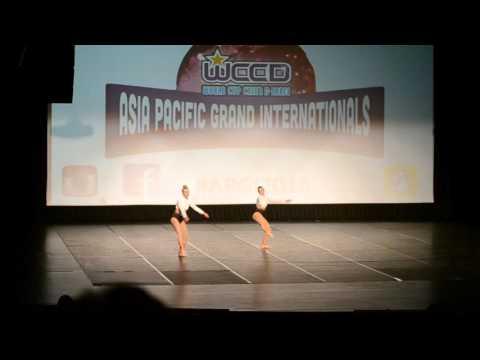 2015 PDC Asia Pacific Grand Internationals Gold Coast - Open Lyrical Duo Kiri & Lori 1st Place