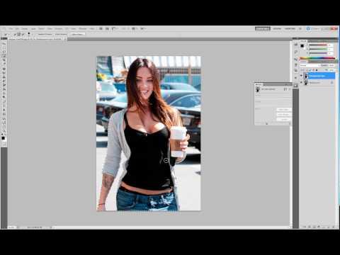 Photoshop CS5 Tutorial - Objekte Schnell Und Leicht Freistellen