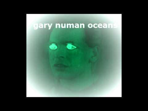 Gary Numan Oceans cover