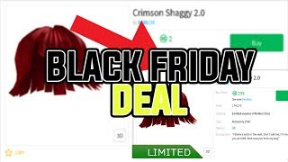 [Roblox] HOW TO GET A LIMITED ITEM FOR ONLY 2 ROBUX! (BLACK FRIDAY SPECIAL)
