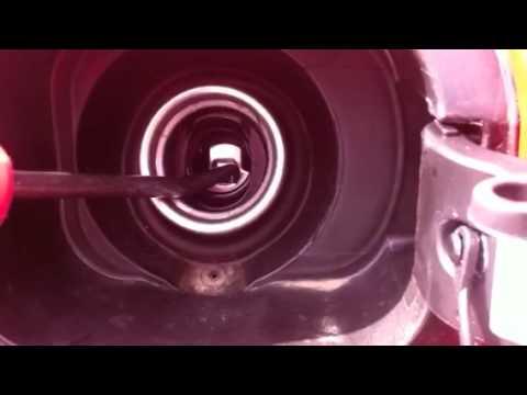 How to Remove the Diesel Filler Neck Door in a VW TDI