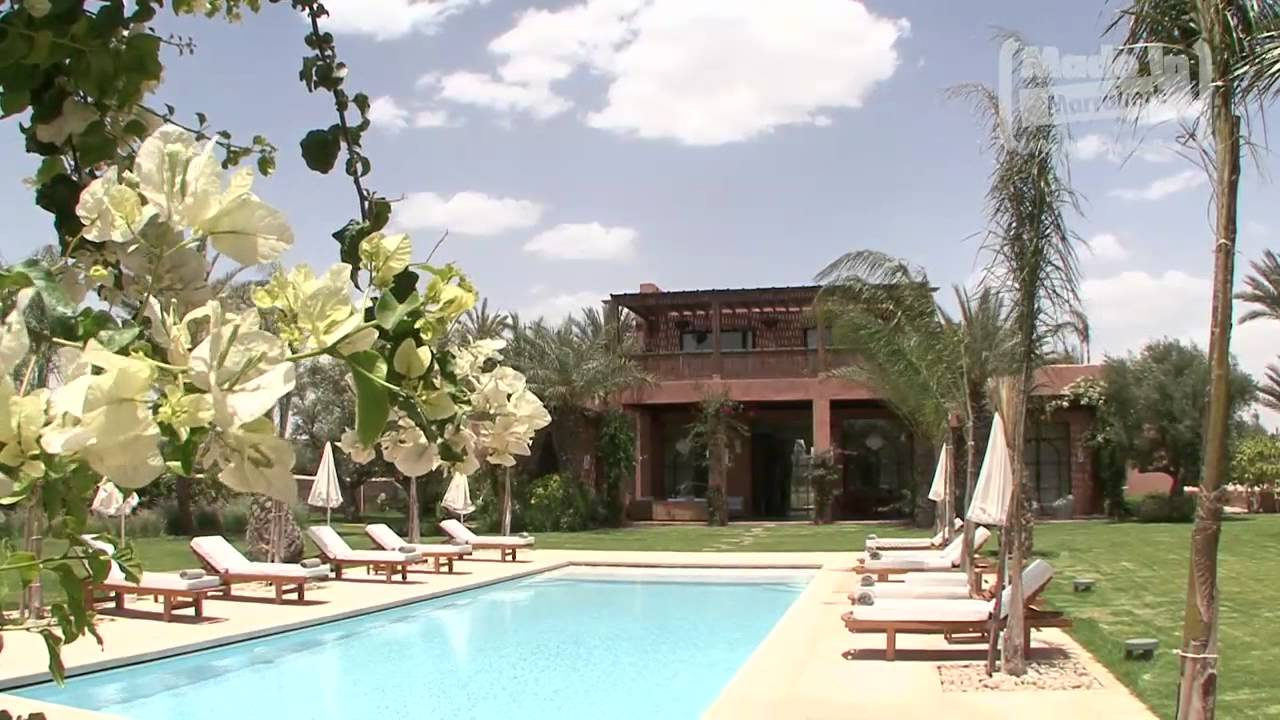 Villa jardin nomade by made in marrakech youtube for Jardin villa maroc