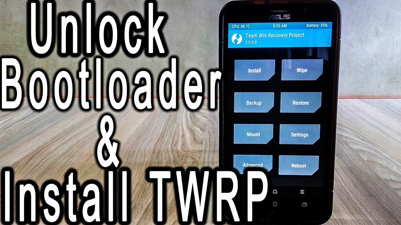 How to Unlock Bootloader and Install TWRP recovery in Asus Zenfone 2 by  Tushar Tech