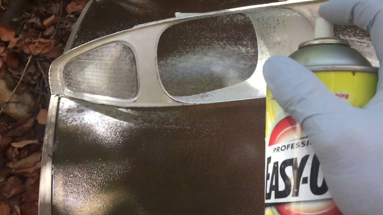 Easy Off Oven Cleaner Chrome Stripping