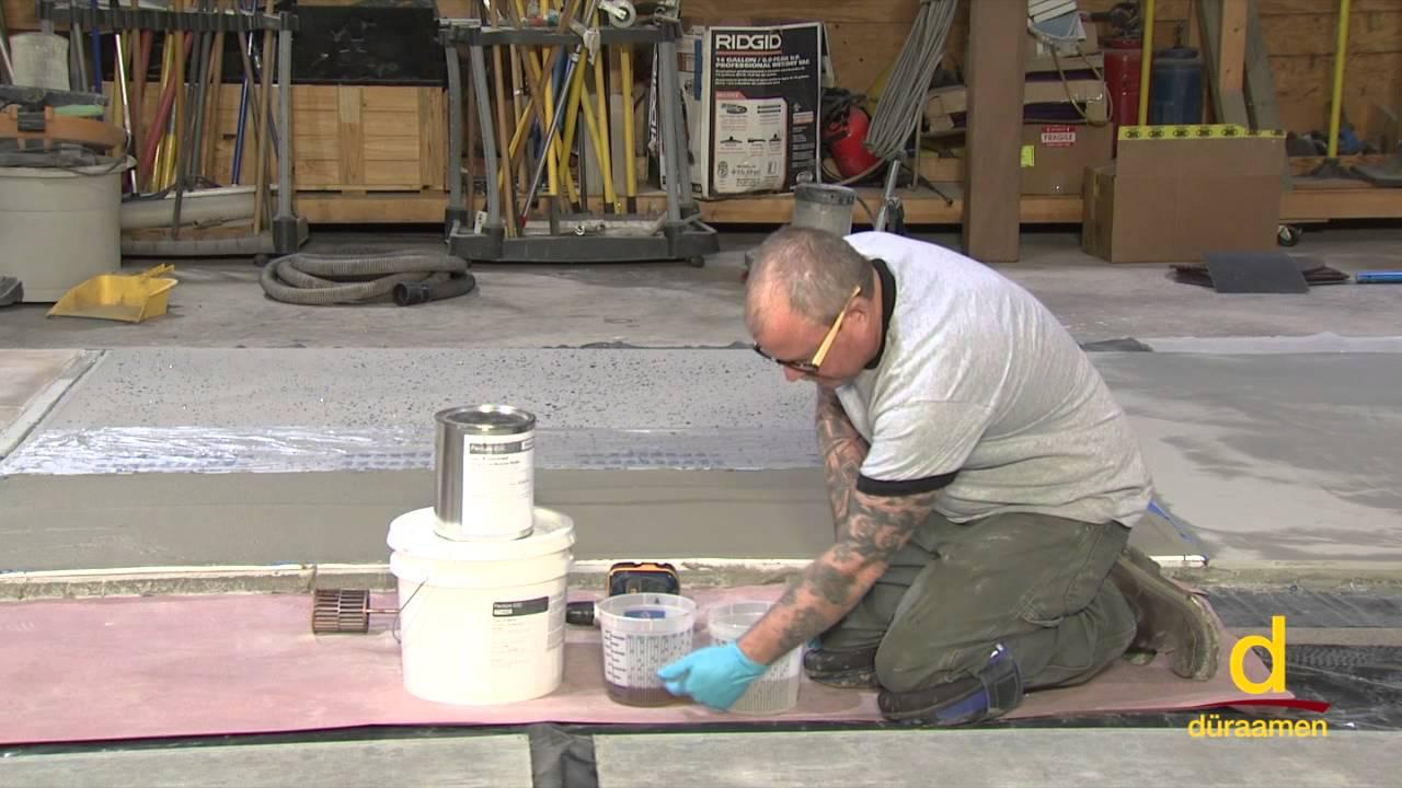 How to Install a Decorative Quartz Flooring System?
