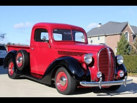 1938 Ford Restomod Truck Test Drive Classic Muscle Car for Sale in MI Vanguard Motor Sales - YouTube