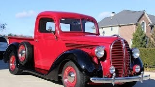 1938 Ford Restomod Truck Test Drive Classic Muscle Car for Sale in MI Vanguard Motor Sales