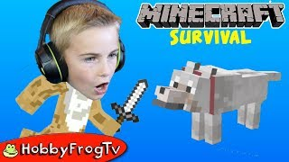 lets-tame-a-wolf-in-minecraft-survival-with-hobbyfrog