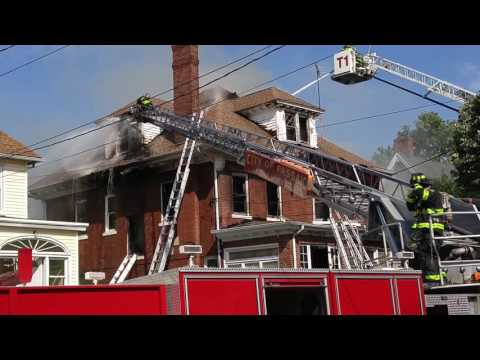 Video of the fire at 197 Lexington Ave. in Passaic on July 20