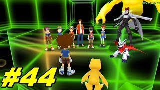 Digimon Adventure PSP Patch V5 Parte #44 - Extras - Gankoomon Batalha Final