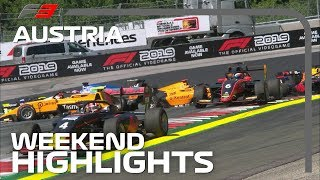 Formula 3 Round 3 Highlights | 2019 Austrian Grand Prix