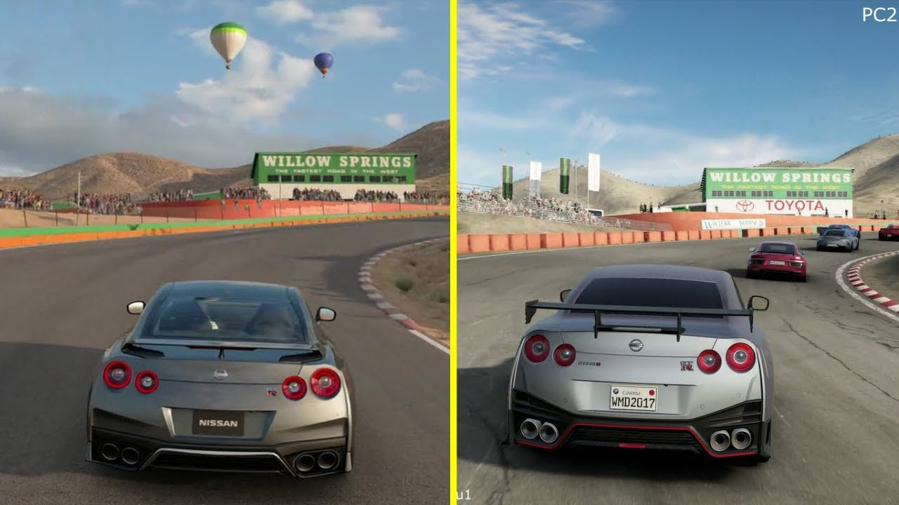 gran turismo sport vs project cars 2 ps4 pro graphics. Black Bedroom Furniture Sets. Home Design Ideas