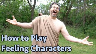 10 Minute Acting Class: The Archetype of Feeling. How Actors Can Play Feeling Characters