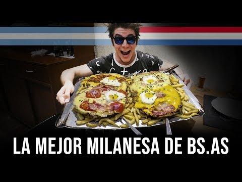 LA MEJOR MILANESA DE BUENOS AIRES ES PARAGUAYA | PARAGUAYO TRIUNFA EN ARGENTINA