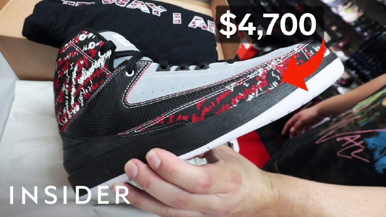 LA Sneaker Store Sells $3 Million Worth Of Exclusive Shoes