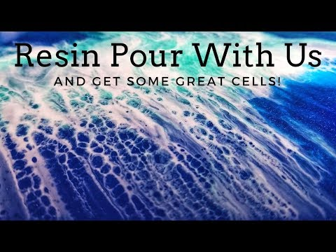 Cells with Castin Craft White Pigment (Resin Tutorial)