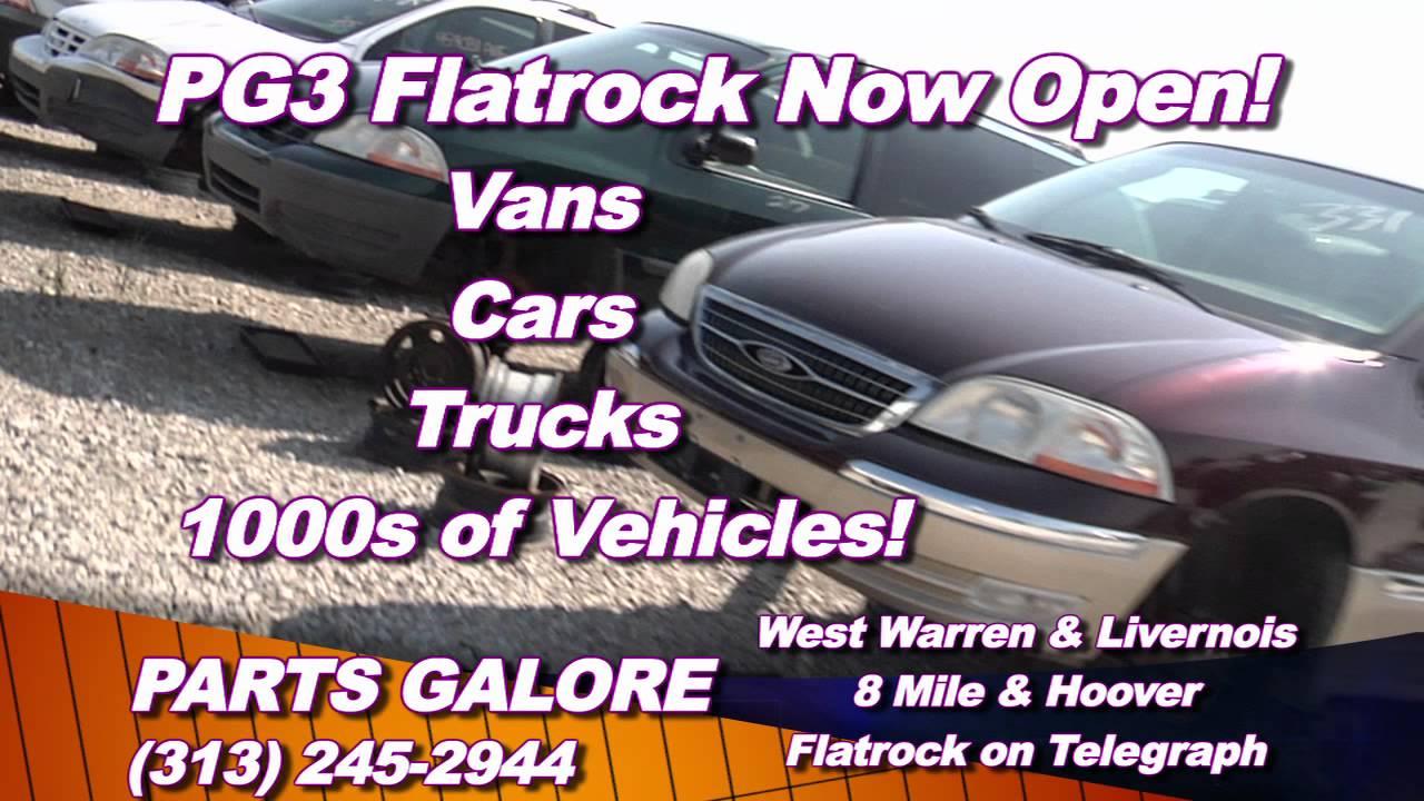 Parts Galore Flatrock