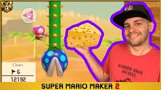 Cheesing The HARDEST Shell Jump Level Ever! 0.04% Clear Rate: Super Mario Maker 2
