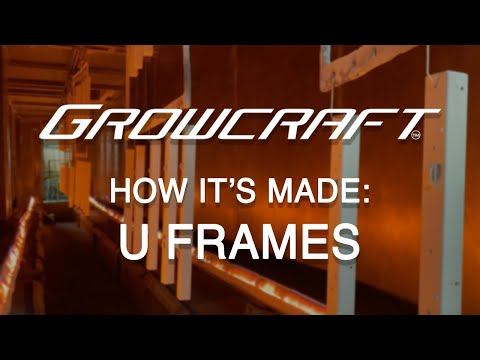 How It's Made - ChilLED Growcraft LED Grow Light U-Frames - Made in USA