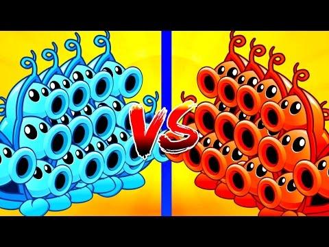Plants vs Zombies 2 HOT Pea Pod vs Gargantuar