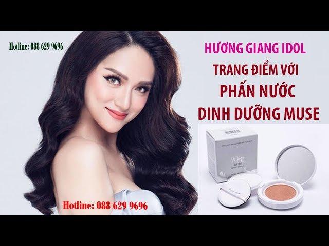 Hoa hậu chuyển giới Hương Giang cũng mê mẩn với phấn nước dinh dưỡng Muse