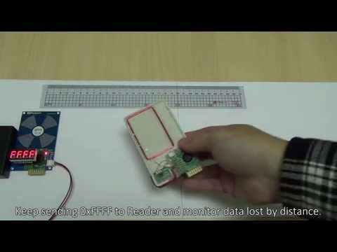 NFC distance and data test