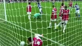 Nikola Zigic welcome to Arsenal- Goals and skills
