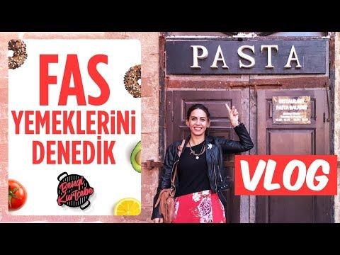 Fas Yemeklerini Denedik | Bol Bol Alışveriş Yaptık | Fas Vlog