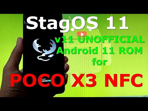 StagOS 11 UNOFFICIAL for Poco X3 NFC ( Surya ) Android 11