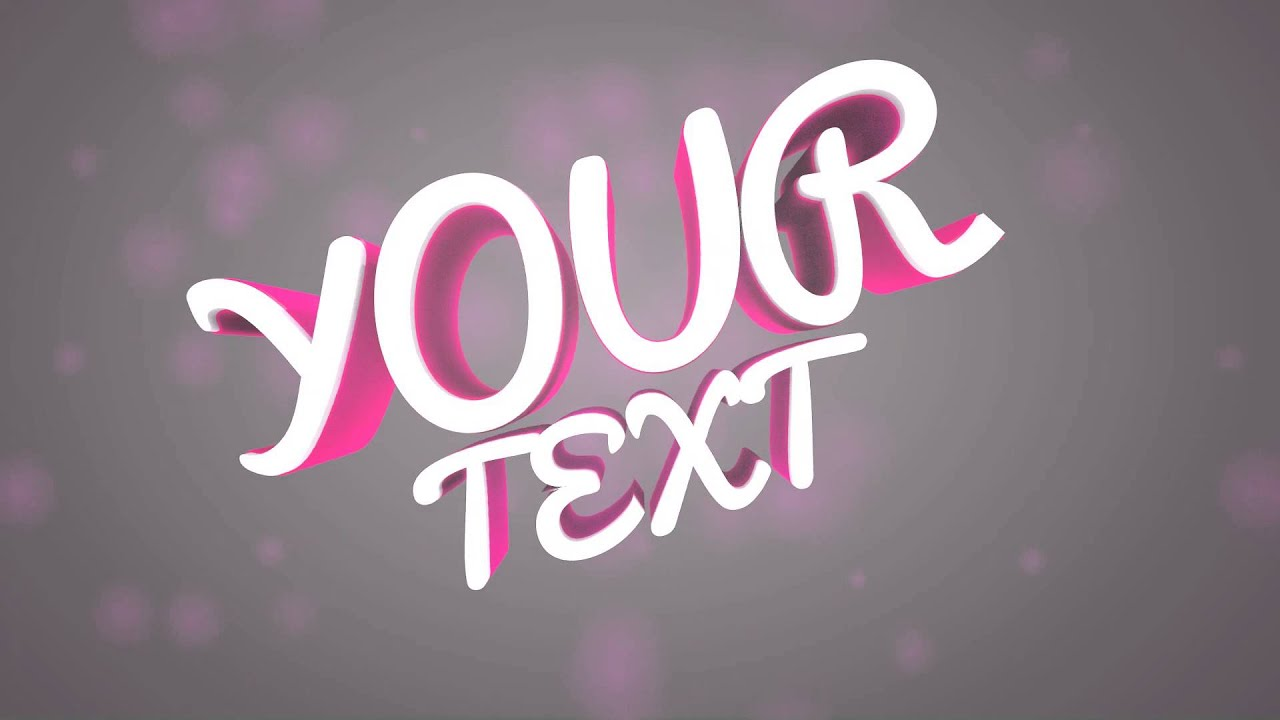 Free intro template style girly youtube free intro template style girly pronofoot35fo Choice Image
