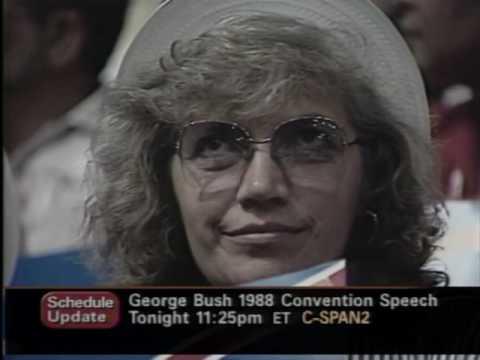 Lloyd Bentsen Nomination Acceptance Speech (1988)